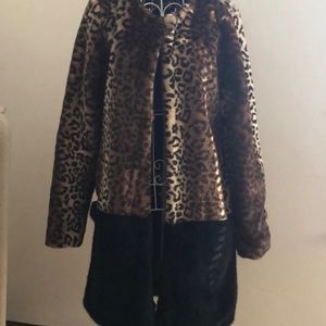 🆕•Glamorous•Nasty Gal Cheetah Leopard Jacket•